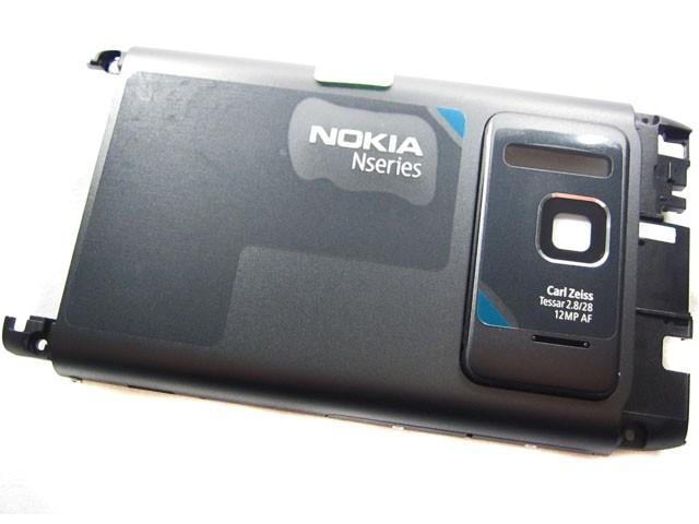 huge selection of b1ef6 84ec2 Nokia N8-00 - Back Cover Dark Grey