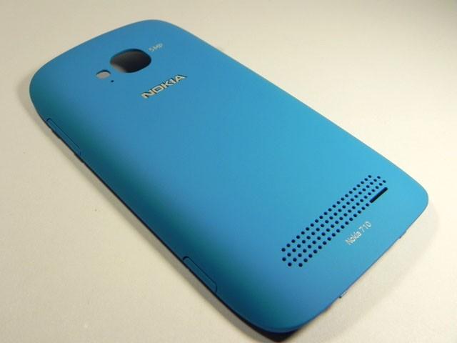 best service 52c7c f210b Nokia Lumia 710 - Battery Cover Cyan