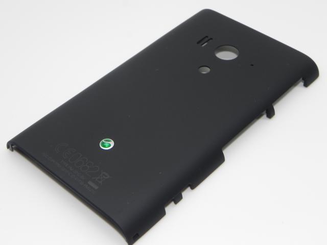 1265-0782 Sony LT26w Xperia Acro S - Akkudeckel / Battery Cover (Schwarz)