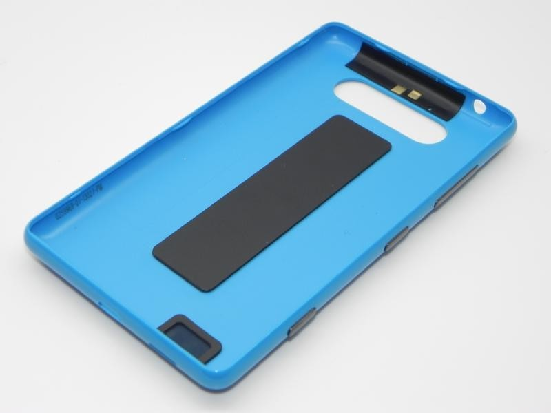 info for d38d7 a8fe5 Nokia Lumia 820 - Battery Cover + NFC Antenna Cyan