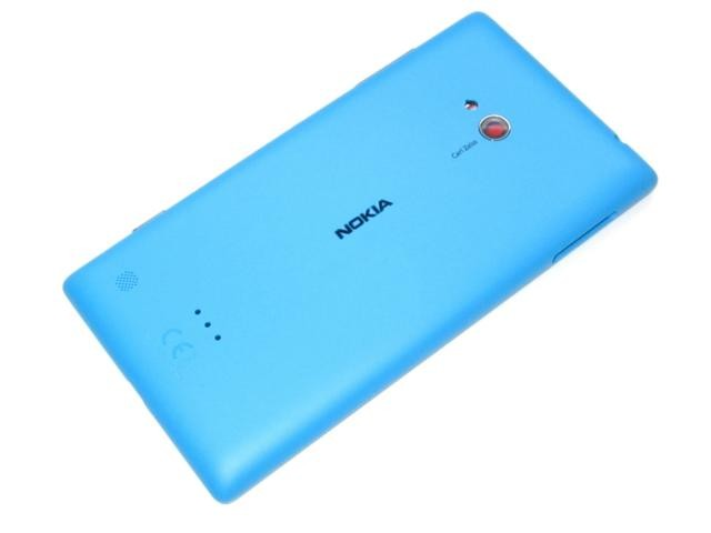 best service c0c39 76ca7 Nokia Lumia 720 - Back Cover Unibody Cyan