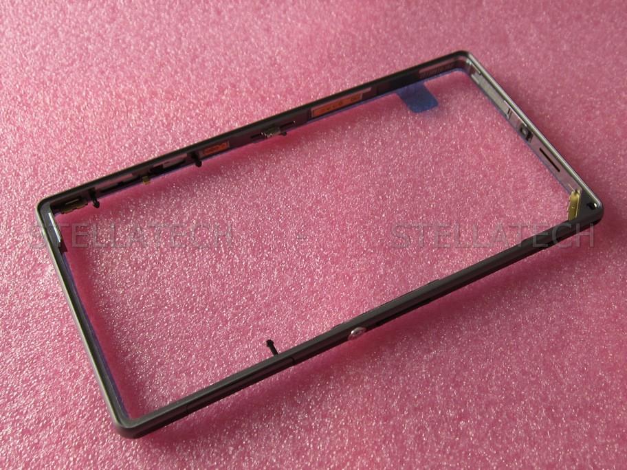 Sony Xperia Z1 (C6903) - Mittel Rahmen Schwarz