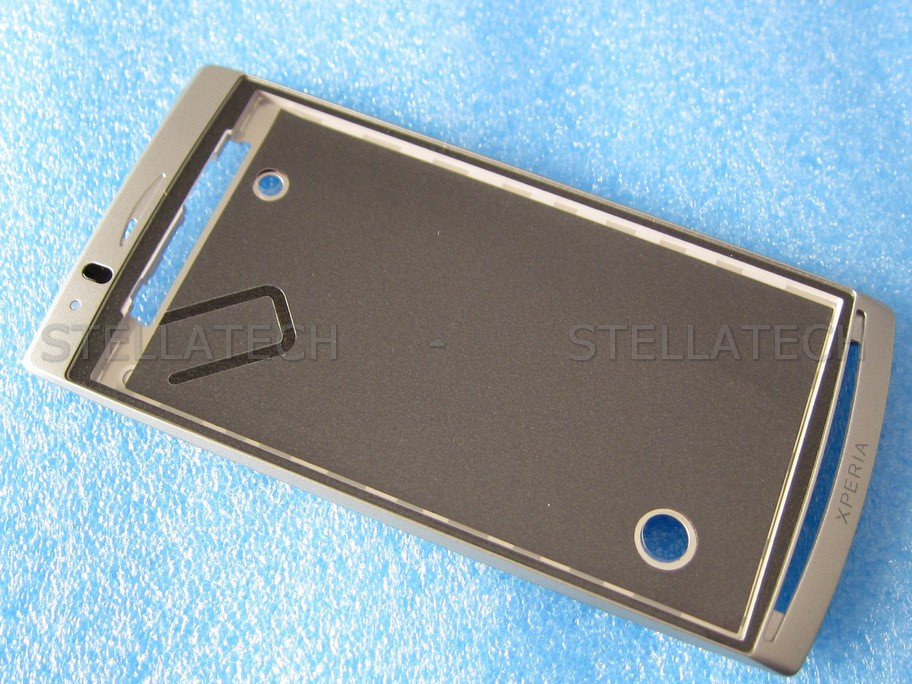 Sony Ericsson Xperia Arc (LT15i) - Front Cover Rahmen Silber