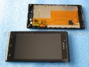 Sony Xperia J (ST26i) - Komplett Front+LCD+Touchscreen