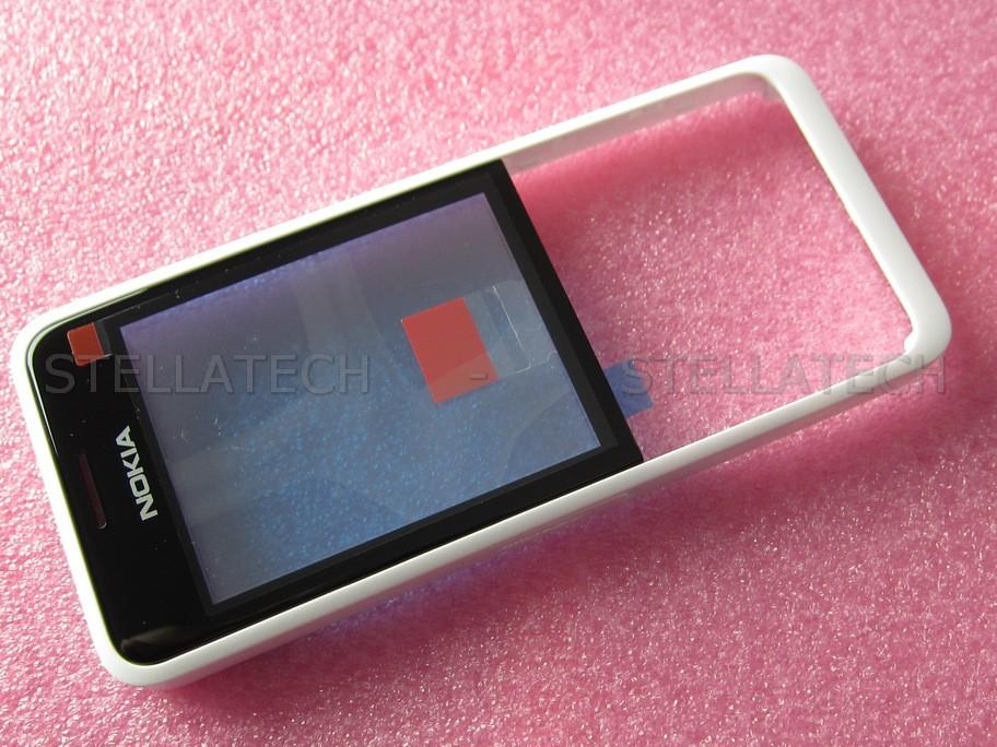 quality design a6111 bd40c Nokia 301 Dual Sim - Front Cover + Lens White