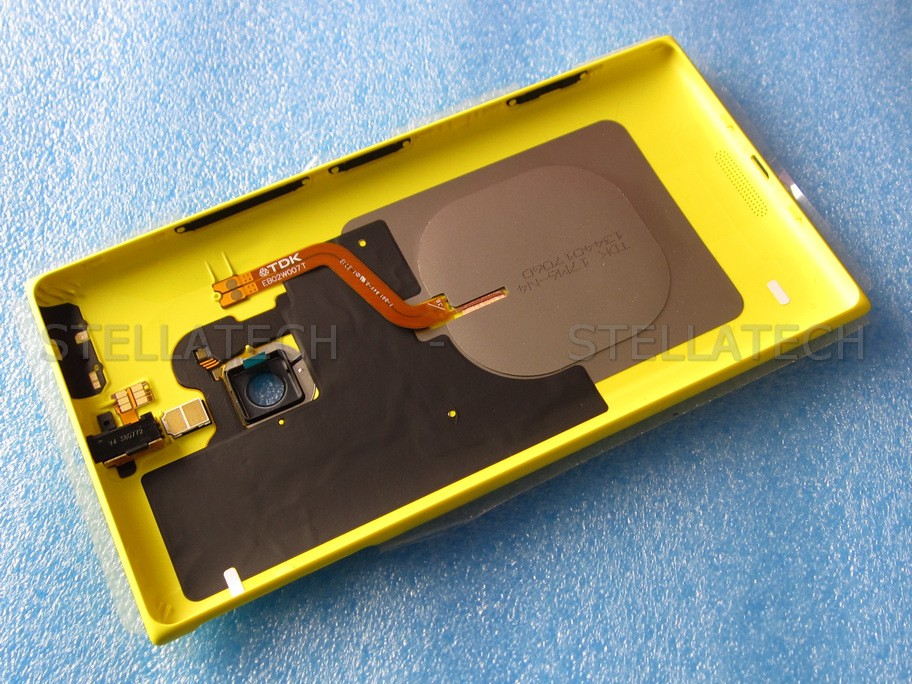 you receive nokia lumia 710 yellow back cover for