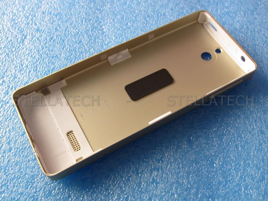 new styles 45e54 dd16b Nokia 515 - Back Cover Light Gold