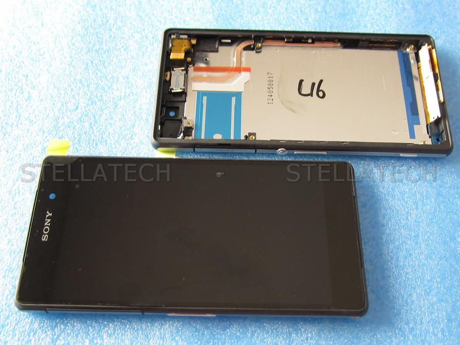 Sony Xperia Z2 (D6503) - Display LCD Touchscreen + Frame Black 1e1fe3bdcdf