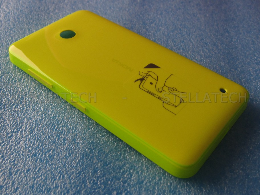 wholesale dealer d9b82 deaef Nokia Lumia 635 - Back Cover Yellow