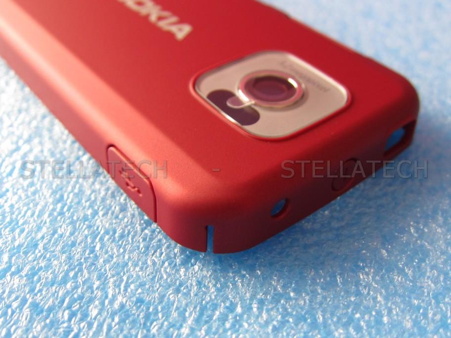 Nokia 7610 Supernova - Battery Cover Red