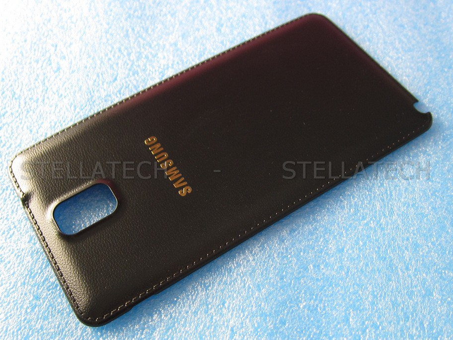 hot sale online a82ad 2869e Samsung SM-N9000 Galaxy Note 3 - Battery Cover Black/Gold