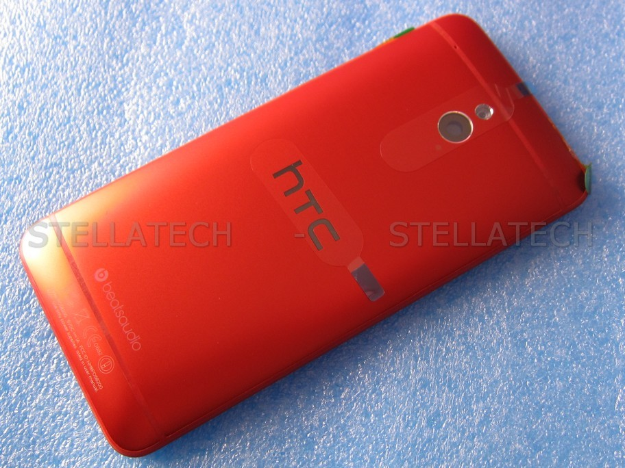 finest selection 7736c d2ef9 HTC One Mini (M4) - Back Cover Unibody Red