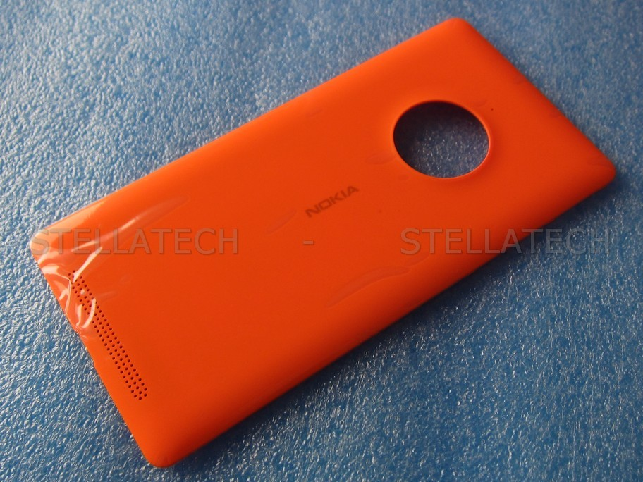 low cost 1332b 4c0d7 Nokia Lumia 830 - Battery Cover + Wireless Charging Orange