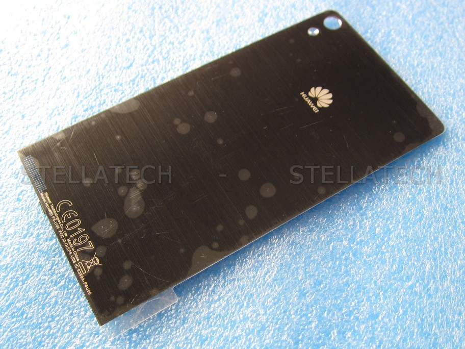 Huawei Ascend P6 (P6-U06) - Battery Cover Black