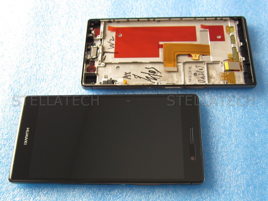 how to open huawei ascend p7