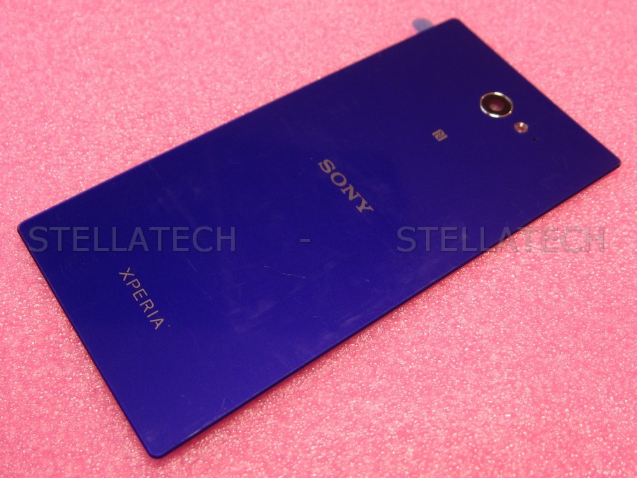 detailed look 2f835 a897f Sony Xperia M2 (D2303) - Battery Cover + NFC Antenna Purple