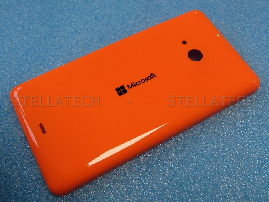 another chance cec68 3f486 Microsoft Lumia 535 - Battery Cover Orange