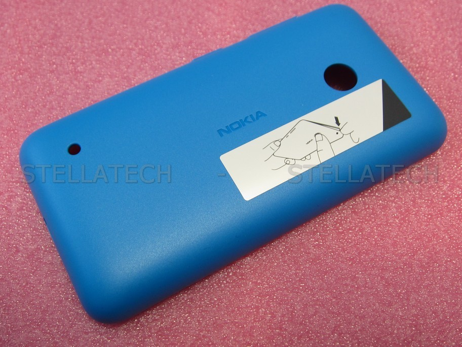 cheaper 7ee4f fdeec Nokia Lumia 530 - Battery Cover Cyan