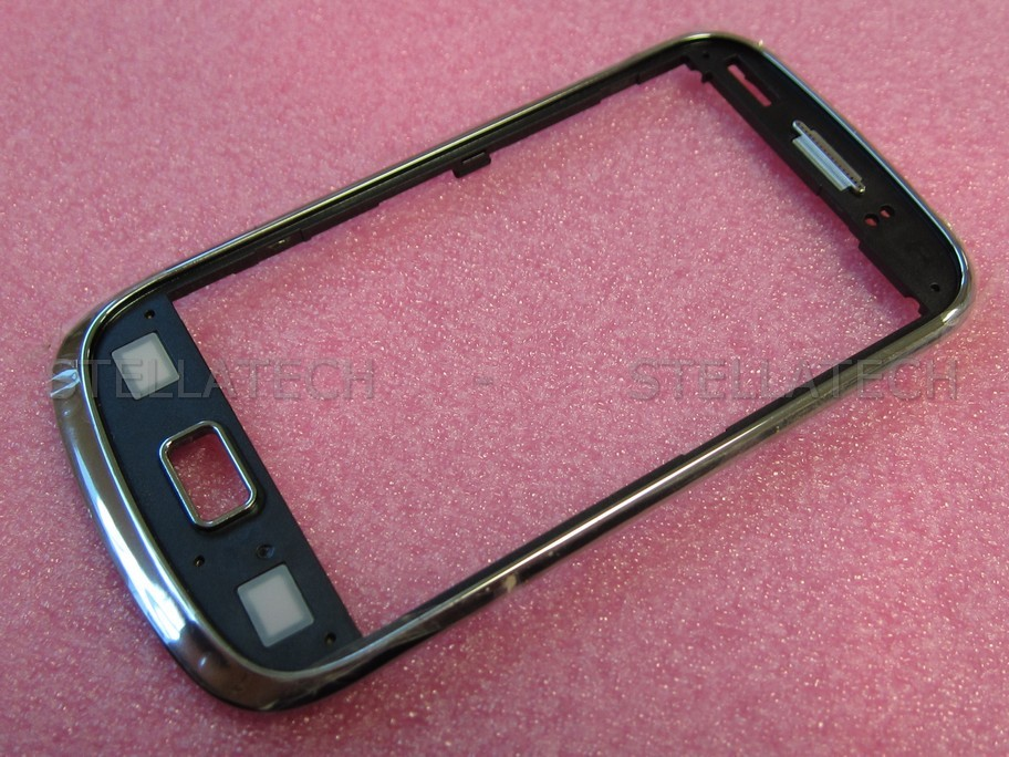 Samsung GT-S6500 Galaxy Mini 2 - Front Cover Rahmen f. Weiss