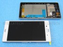 Sony Xperia Z3 (D6603) - Display LCD Touchscreen Front Weiss