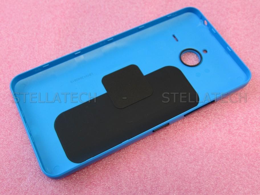 02510P7 Microsoft Lumia 640 XL LTE - Battery Cover Cyan