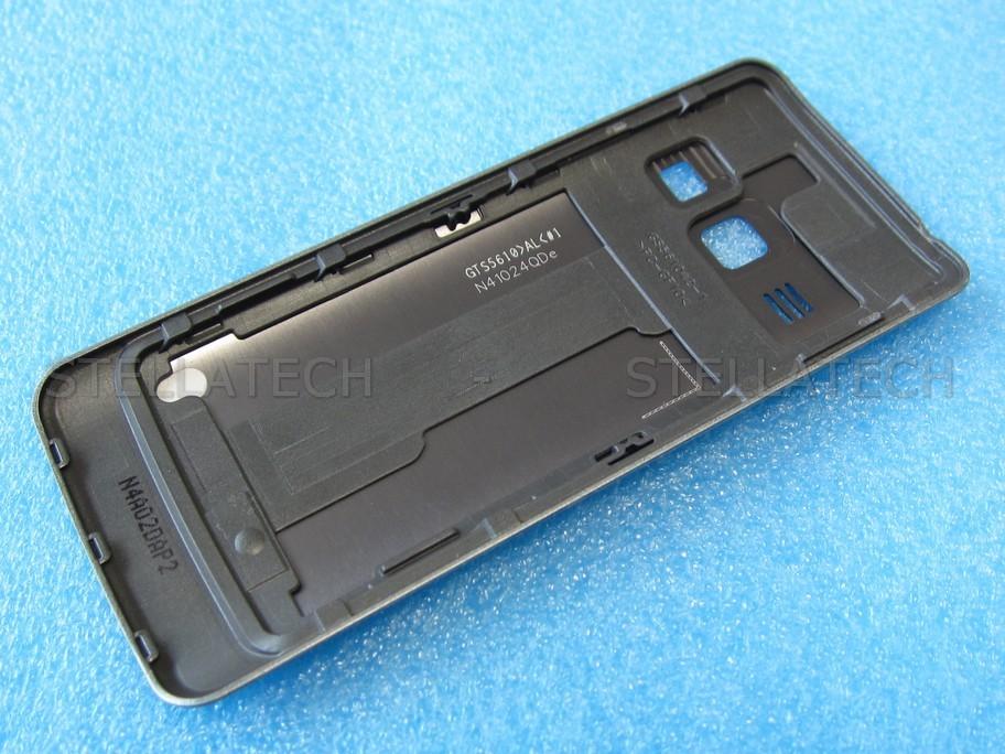 samsung gt s battery cover silveraen