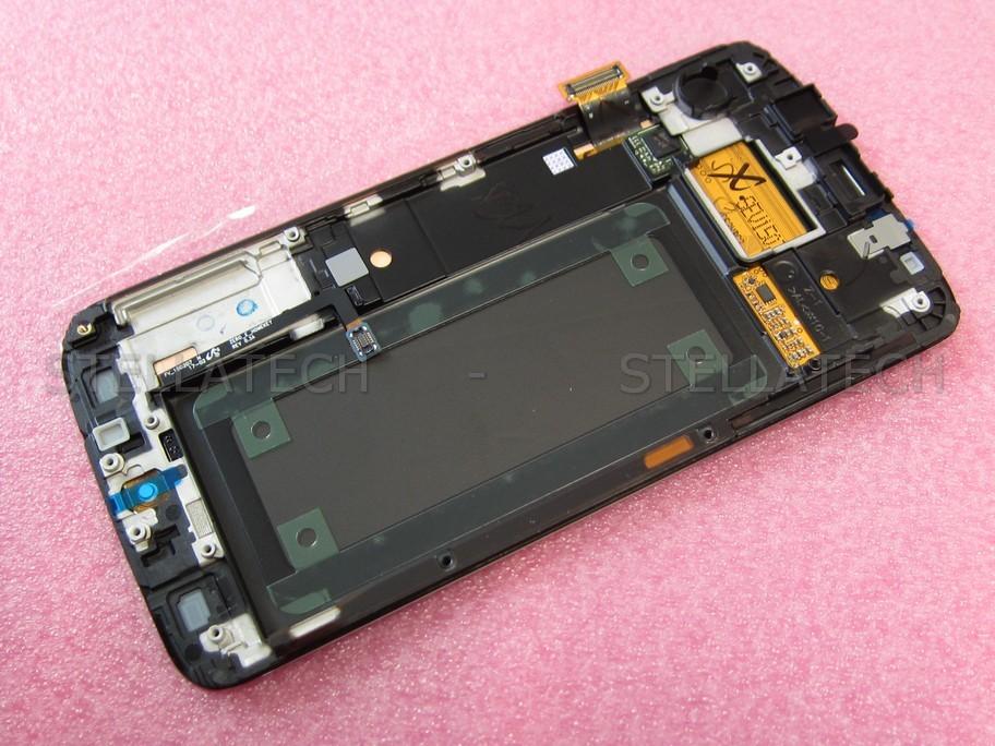 Samsung Sm G925f Galaxy S6 Edge Display Lcd Touchscreen Rahmen