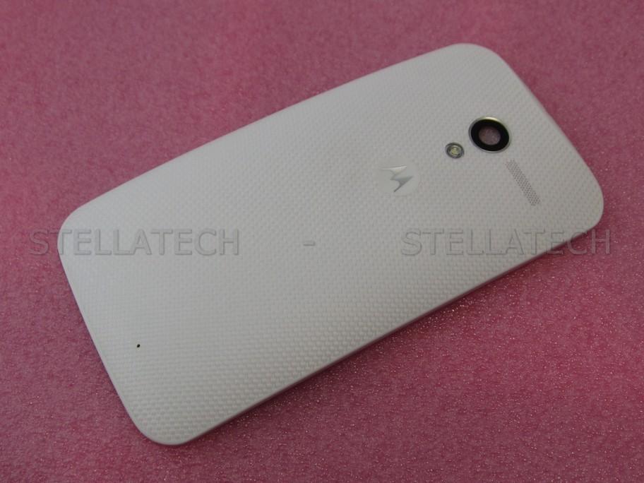 pretty nice 507e2 0b6aa Motorola Moto X (XT1052) - Battery Cover White