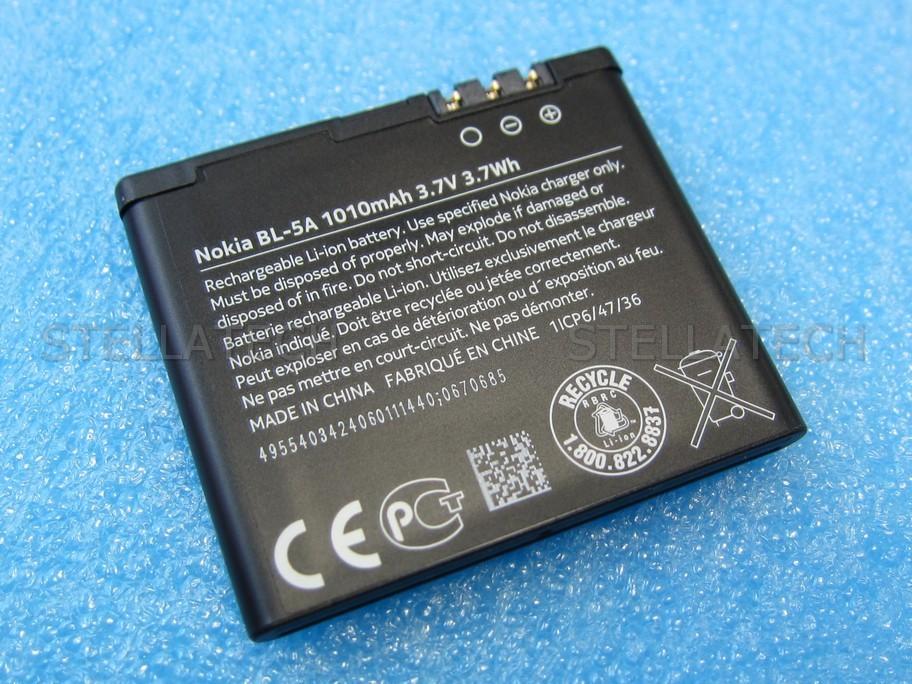 0670685 Nokia Asha 502 - Battery Li-Ion BL-5A 1010mAh  0670685 Nokia A...