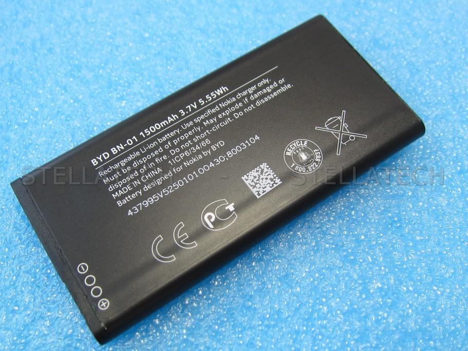 8003104 Nokia X - Battery Li-Ion-Polymer BN-01 1500mAh