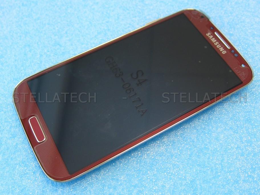 Samsung Galaxy S4 Mini Duos Gt I9192 Red La Fleur Nemetas
