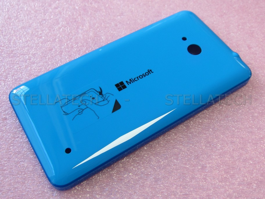 new styles 83912 4e766 Microsoft Lumia 640 3G (RM-1076) - Battery Cover Cyan