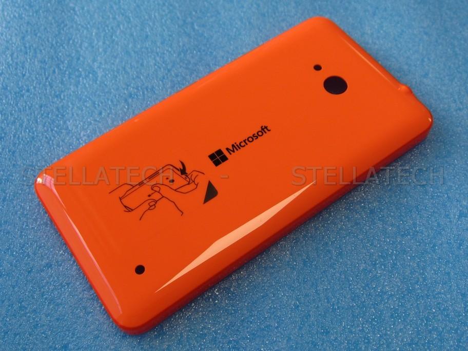 super popular dcd28 f41b1 Microsoft Lumia 640 3G (RM-1076) - Battery Cover Orange