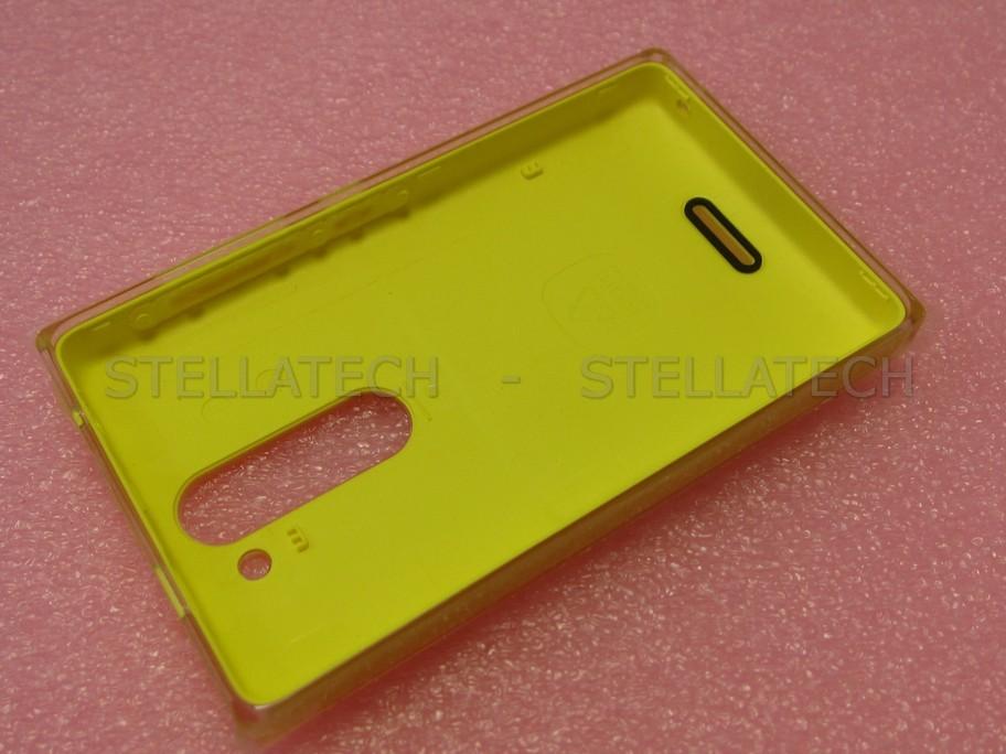 Nokia Asha 502 - Battery Cover Yellow  Nokia Asha 502 ...