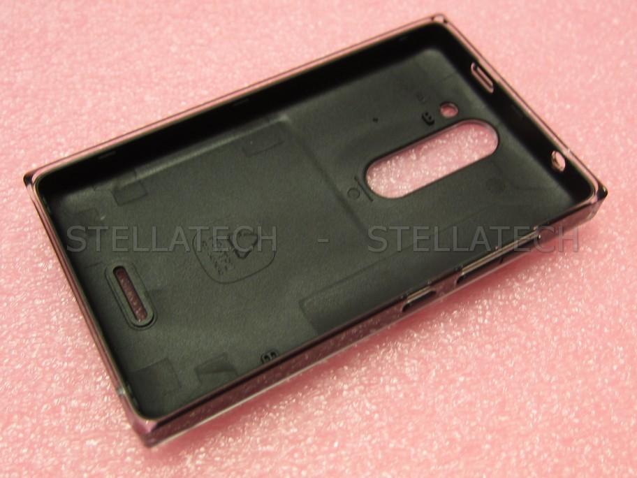 02503V8 Nokia Asha 502 - Battery Cover Black  02503V8 Nokia A...
