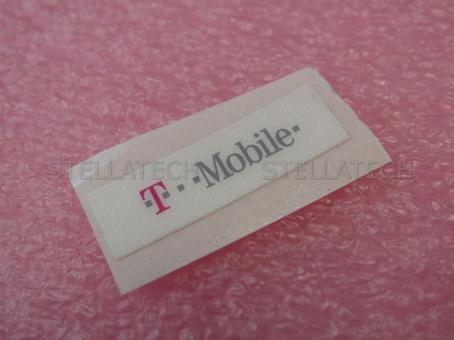 Sony ericsson w850i logo label dekoration sticker t mobile white