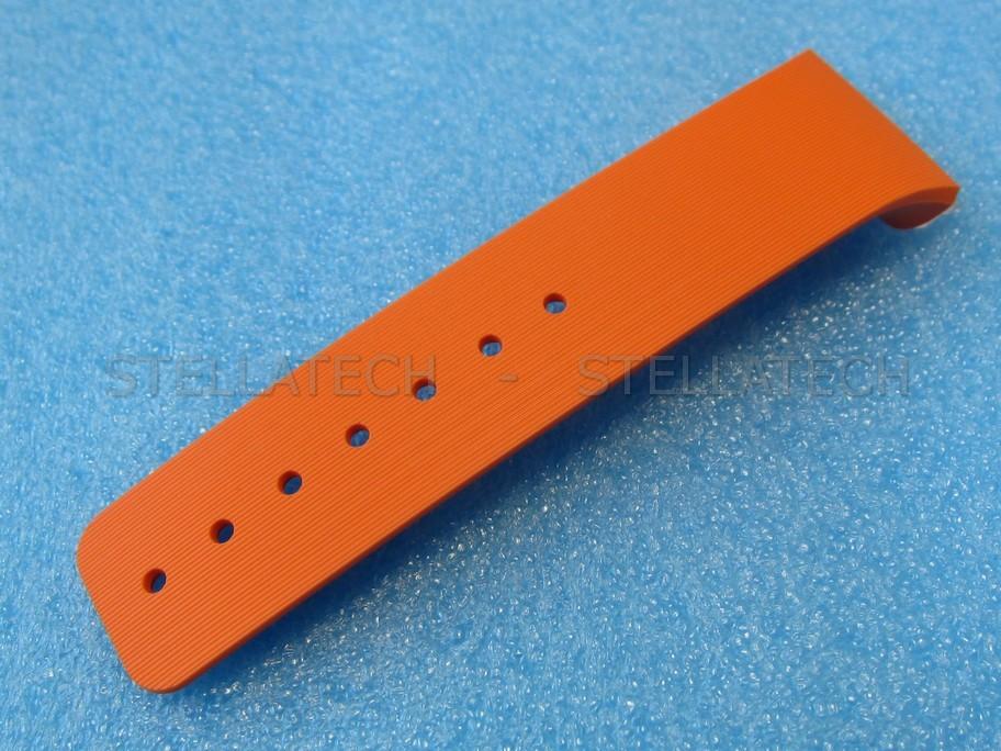Samsung Sm V700 Galaxy Gear Armband Einteilig Locher Seite L Orange