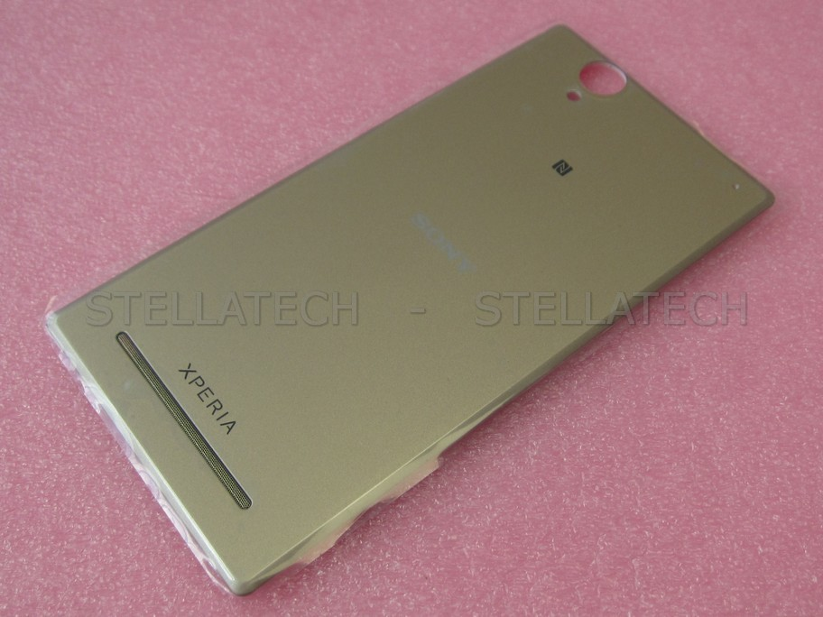 info for 6163f 4893e Sony Xperia T2 Ultra (D5303) - Battery Cover Gold