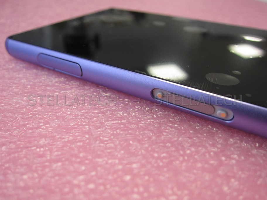 Xperia z purple front
