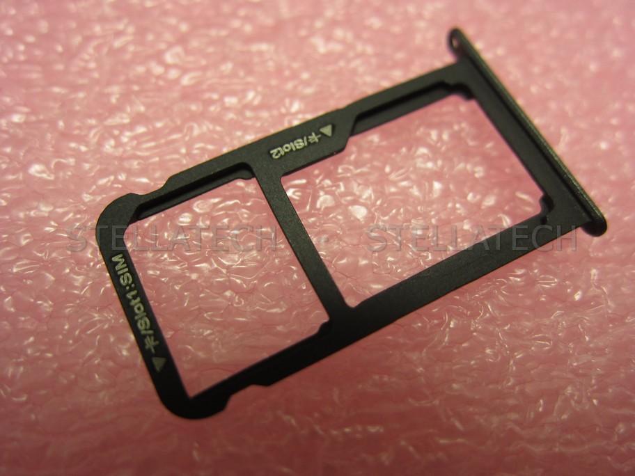 huawei p8 lite sd karte Huawei P9 Lite (VNS L21)   Sim / SD Card Tray f. Black