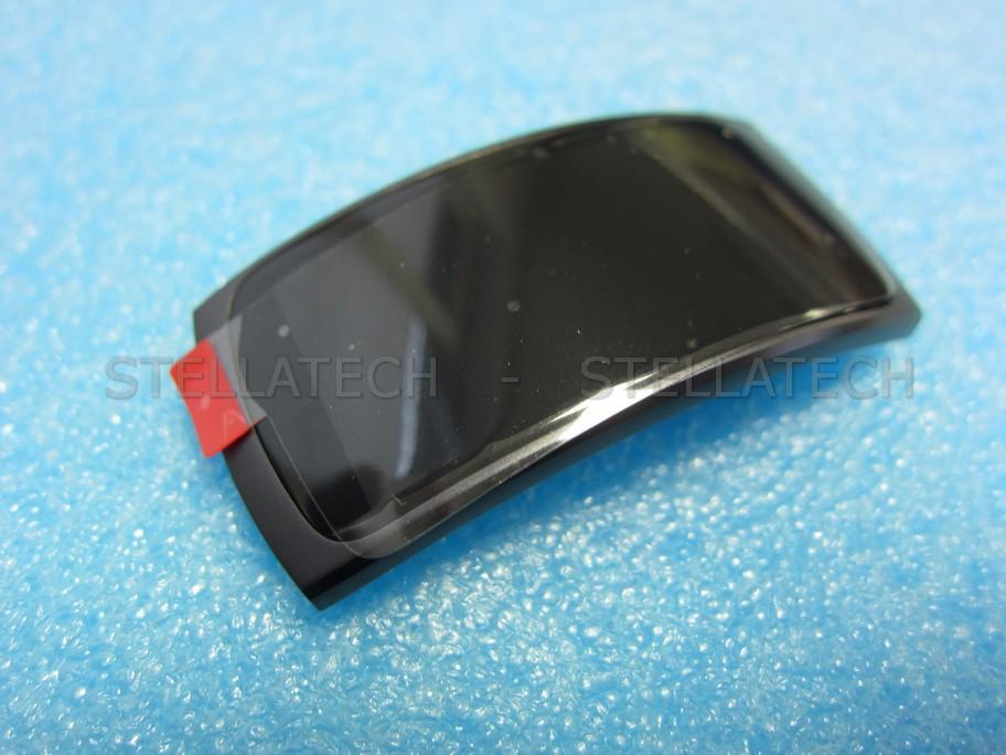 Samsung SM-R360 Gear Fit2 - Display LCD Touchscreen + Rahmen Grau