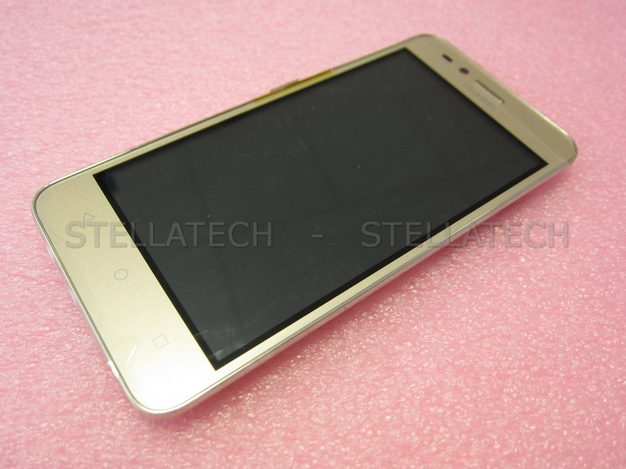 Huawei Y3II 3G (LUA-U22) - Display LCD Touchscreen + Frame Gold