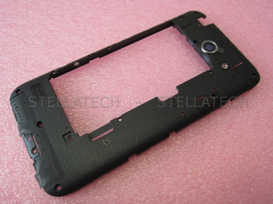 purchase cheap bb8ac 82ef0 Huawei Ascend Y550 (Y550-L01) - Middle Cover + Camera Lens Black