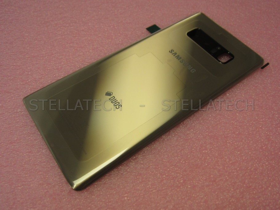lowest price ba86c 0ee79 Samsung SM-N950FD Galaxy Note 8 Duos - Battery Cover Gold