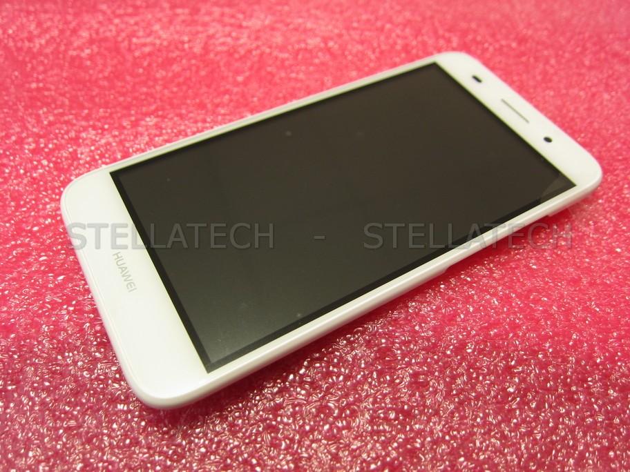 Huawei Y3 Dual Sim LTE 2017 (CRO-L22) - Display LCD Touchscreen + Frame  White