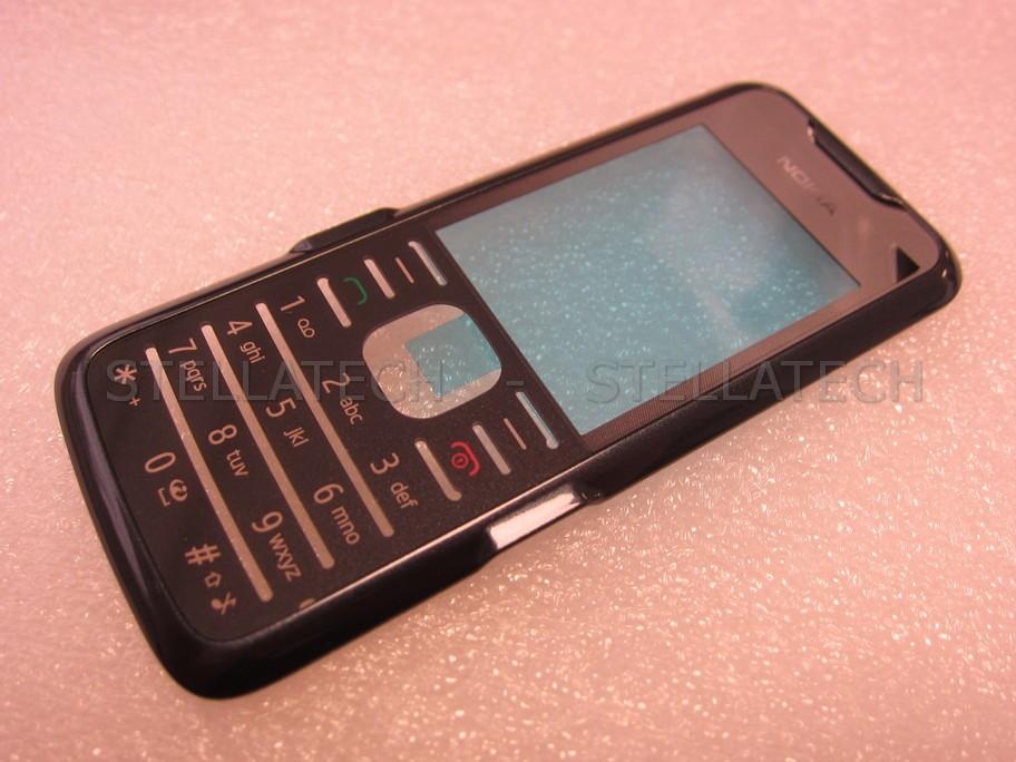 timeless design c3fdc 64b15 Nokia 7210 Supernova - Front Cover + Lens / Latin f. Dark Grey/Silver