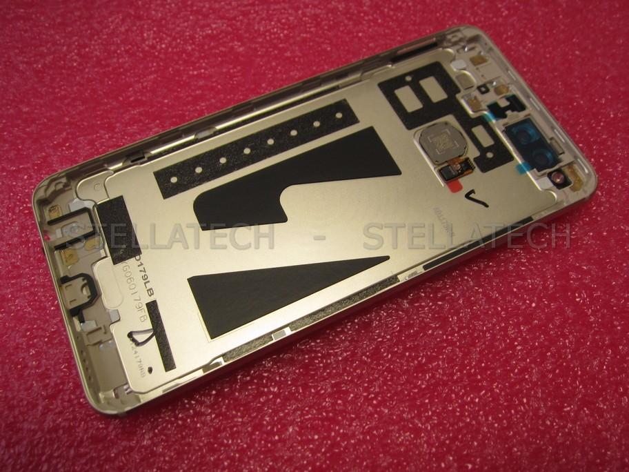Huawei Honor 7X Dual Sim (BND-L21) - Battery Cover + Fingerprint Sensor Gold