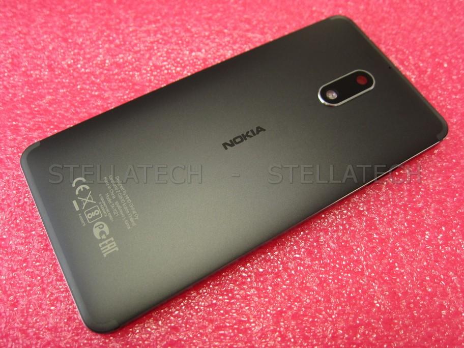 Nokia 6 Dual Sim (TA-1021) - Back Cover Unibody Black