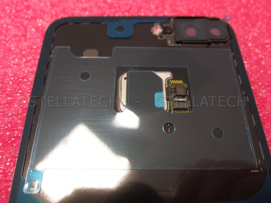 Huawei Honor 9 Lite Dual Sim (LLD-L31) - Battery Cover + Fingerprint Button  Black