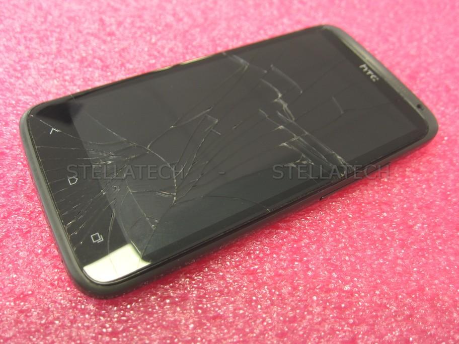 HTC One X - Smartphone Used Grade E / Partial Defect Grey
